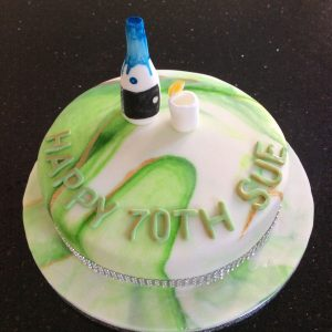 Gin lovers gin and lime cake