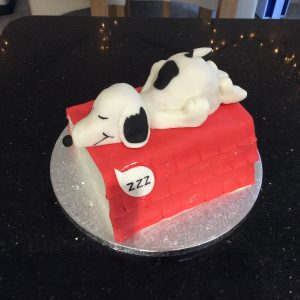 Snoopy cake £35