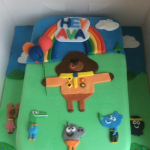 Hey Dugie cake £40